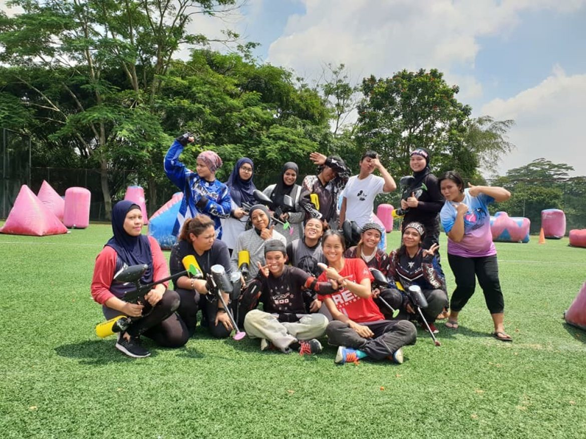 All Girls Paintball AGP Femme Fatale Paintball Clinic 2018