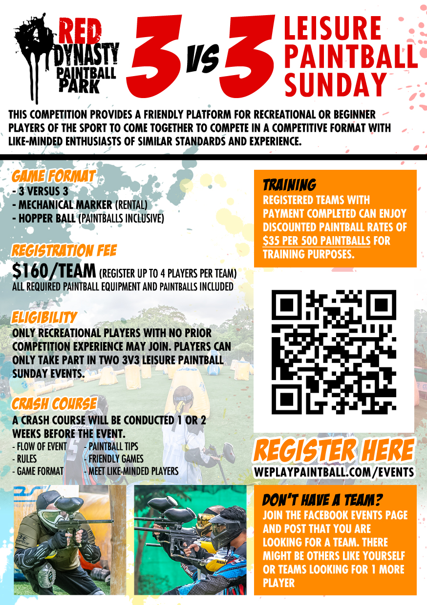 EVENTS | Red Dynasty Paintball Park