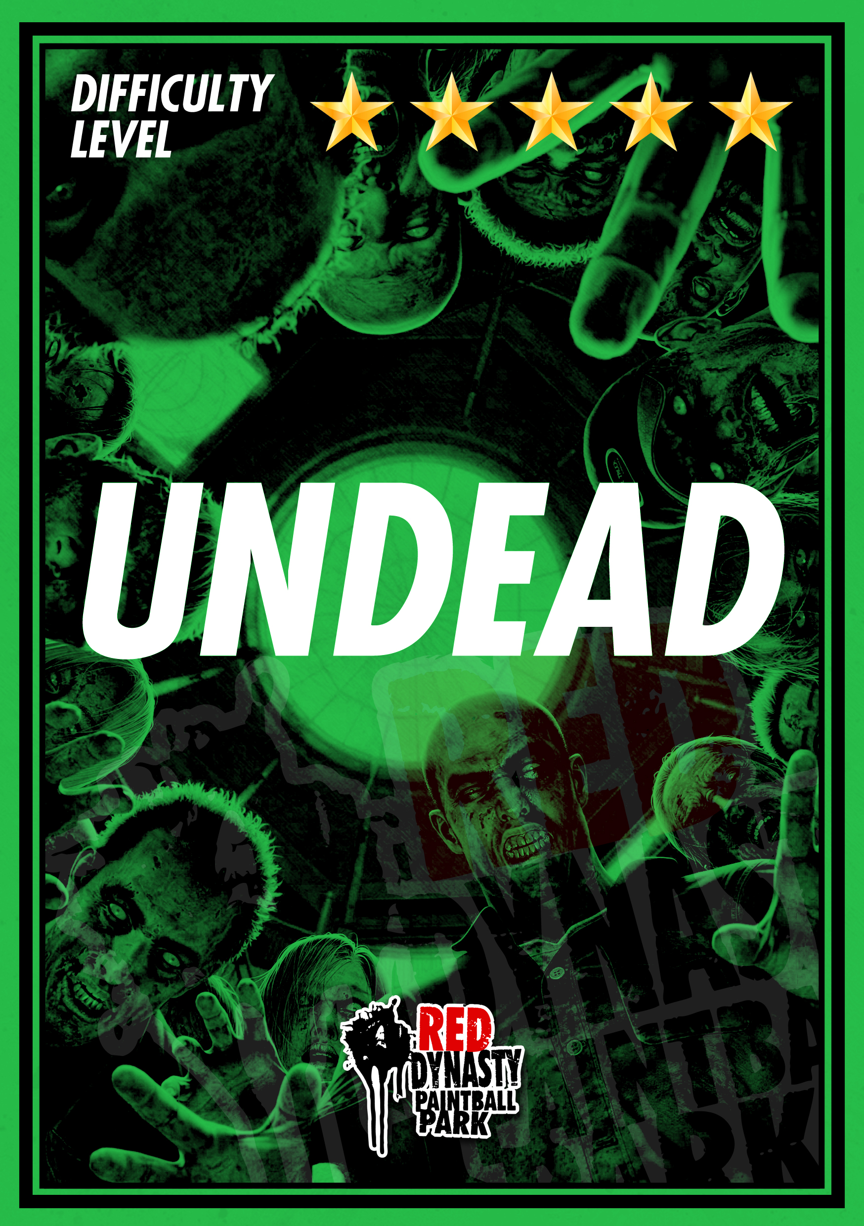 Among the survivors a player has be infected with the undead virus. Identify the undead and prevent the spread. Will the virus spread and infect everyone or can the survivors hold out till reinforcements arrive.